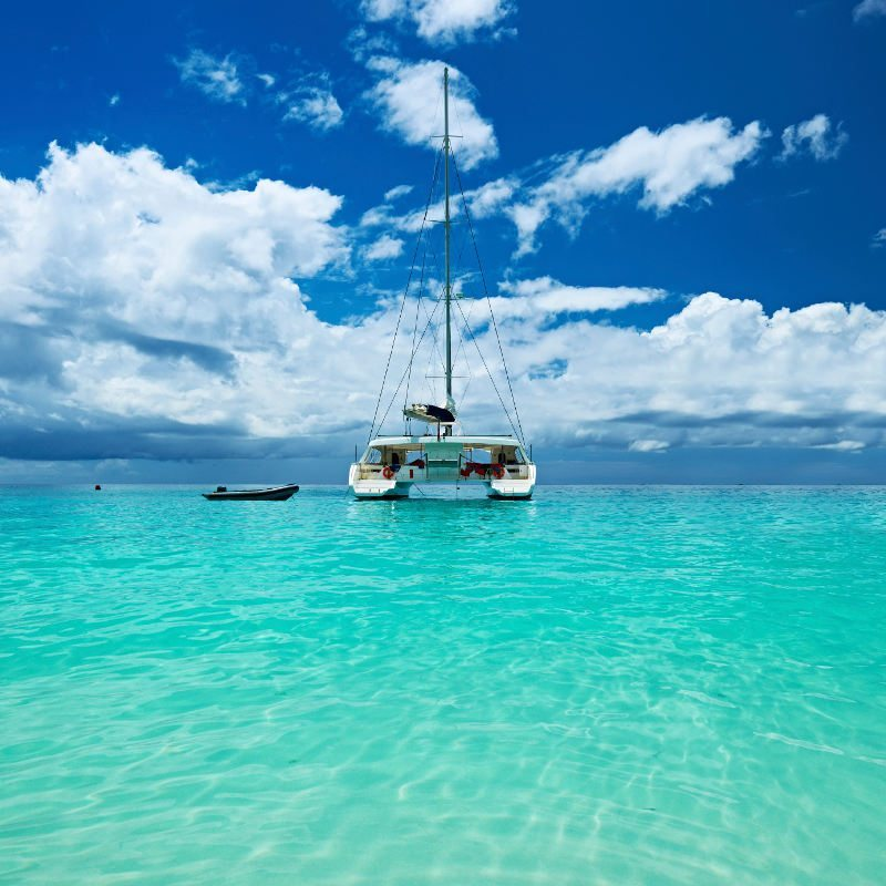 Catamaran Cruise with Mauritius Golf Tours
